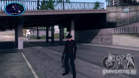 Freddy Krueger для GTA San Andreas
