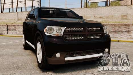 Dodge Durango 2013 Sheriff [ELS] для GTA 4