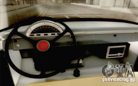Ford F100 1956 для GTA San Andreas вид сзади