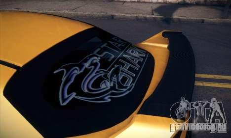 Honda Civic Type R Mugen для GTA San Andreas салон