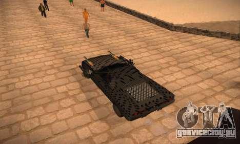 Cheetah Zomby Apocalypse для GTA San Andreas вид слева