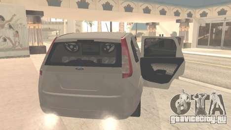 Ford Fiesta Rocam Edit для GTA San Andreas вид справа
