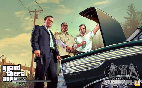 GTA V to SA: LoadScreens для GTA San Andreas восьмой скриншот