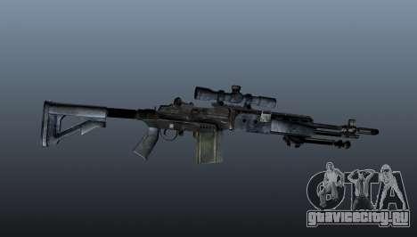 Снайперская винтовка M21 Mk14 v2 для GTA 4 третий скриншот