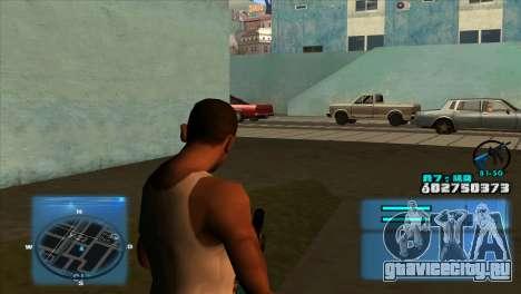 C-HUD Battlefield 3 для GTA San Andreas