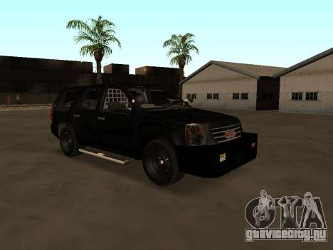 GMC Yukon ATTF для GTA San Andreas
