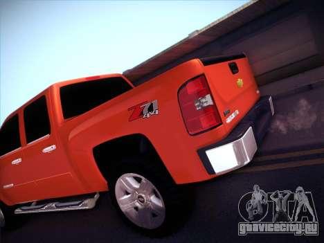 Chevrolet Cheyenne LT 2008 для GTA San Andreas вид сверху