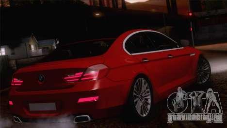 BMW 6 Gran Coupe v1.0 для GTA San Andreas вид сбоку