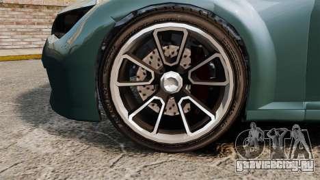 GTA V Zion XS Cabrio для GTA 4 вид сзади