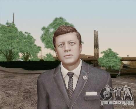 Джон Кеннеди для GTA San Andreas третий скриншот
