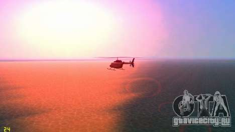 Sun effects для GTA Vice City пятый скриншот