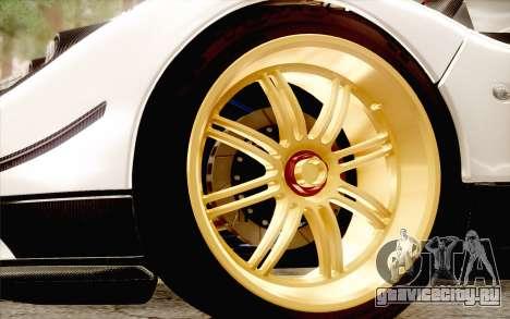 Pagani Zonda Cinque для GTA San Andreas вид сбоку