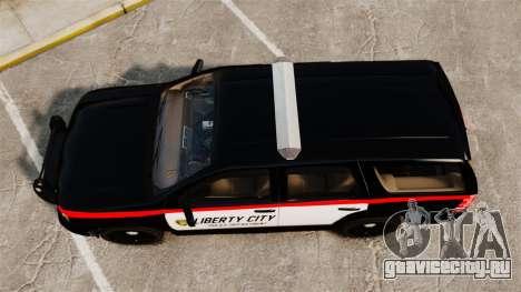 Chevrolet Tahoe 2008 LCPD STL-K Force [ELS] для GTA 4 вид справа