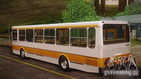 ЛиАЗ 5256.00 Скин-пак 2 для GTA San Andreas вид сбоку