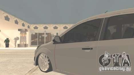 Ford Fiesta Rocam Edit для GTA San Andreas вид сзади слева