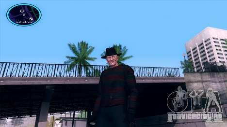 Freddy Krueger для GTA San Andreas четвёртый скриншот