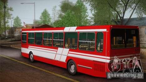 ЛиАЗ 5256.00 Скин-пак 1 для GTA San Andreas вид сзади слева