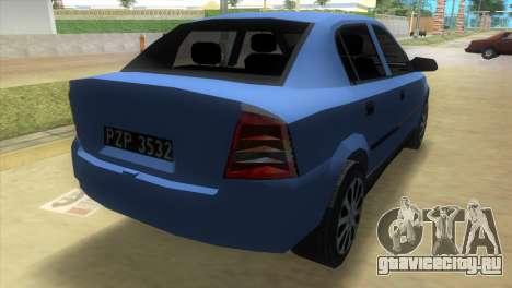 Opel Astra 4door 1.6 TDi Sedan для GTA Vice City вид слева