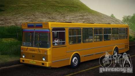 ЛиАЗ 5256.00 Скин-пак 5 для GTA San Andreas вид сверху
