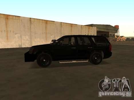 GMC Yukon ATTF для GTA San Andreas вид сзади
