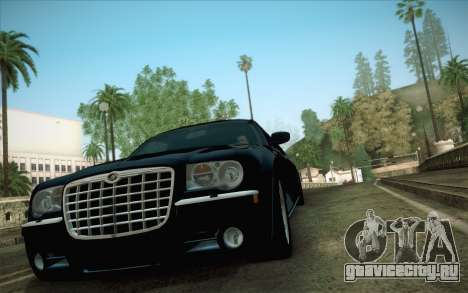 Chrysler 300C Limo 2007 для GTA San Andreas вид сзади