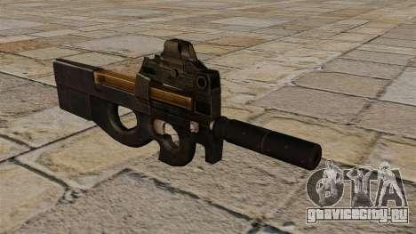 Пистолет-пулемёт P90 обновлённый для GTA 4
