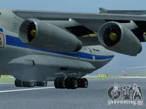 Ил-76ТД v 1.0 для GTA San Andreas вид сзади слева