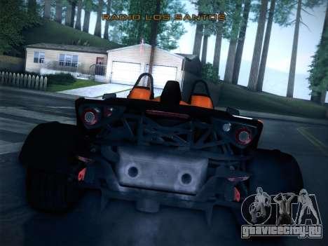 KTM Xbow R для GTA San Andreas вид сзади слева
