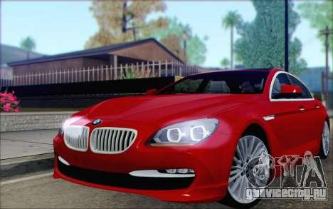 BMW 6 Gran Coupe v1.0 для GTA San Andreas