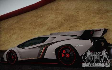 Lamborghini Veneno LP750-4 2013 для GTA San Andreas вид справа