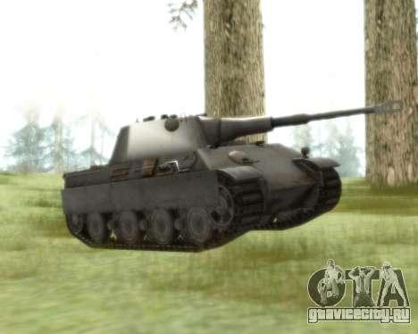 Pzkpfw V Panther II для GTA San Andreas вид слева