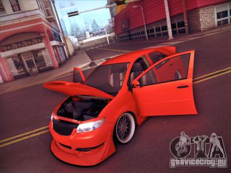 Toyota Vios Modified Indonesia для GTA San Andreas вид снизу