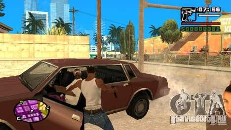 Самозарядный пистолет для GTA San Andreas четвёртый скриншот