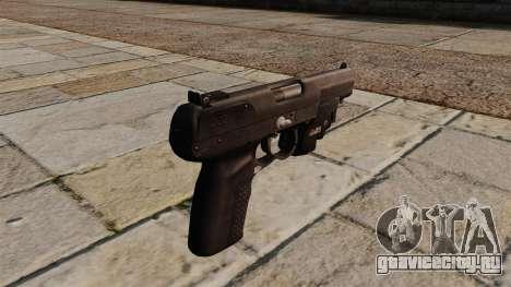 Пистолет FN Five-seveN для GTA 4 второй скриншот