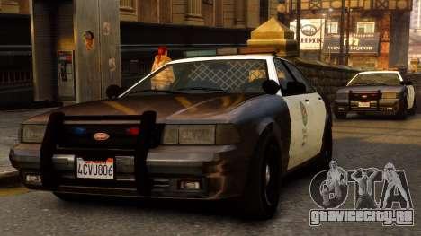 GTA V Police Cruiser для GTA 4