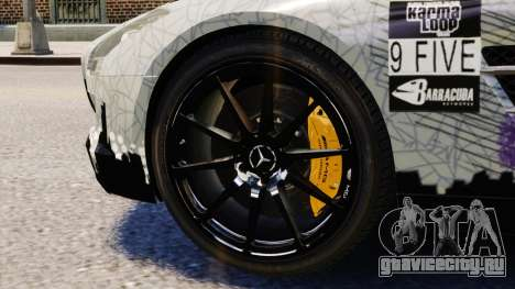Mercedes Benz SLS AMG 2011 v3.0 [EPM] для GTA 4 вид сбоку