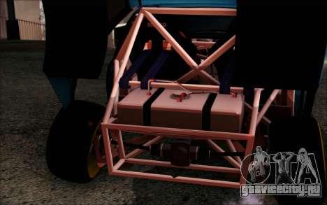 Honda Civic EG6 Tube Frame для GTA San Andreas вид изнутри