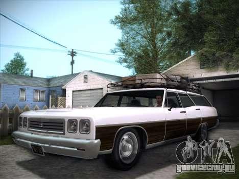 Regina from GTA V для GTA San Andreas вид сзади слева