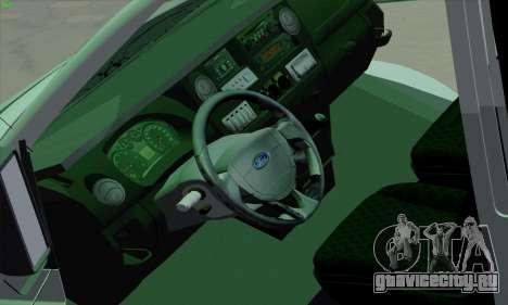 Ford Transit Jumgo для GTA San Andreas салон