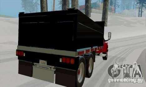 GMC C4500 Topkick для GTA San Andreas вид сзади слева