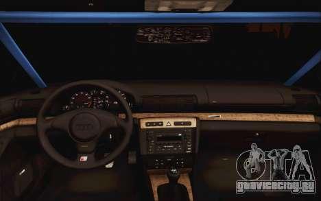Audi S4 Hellaflush для GTA San Andreas вид справа