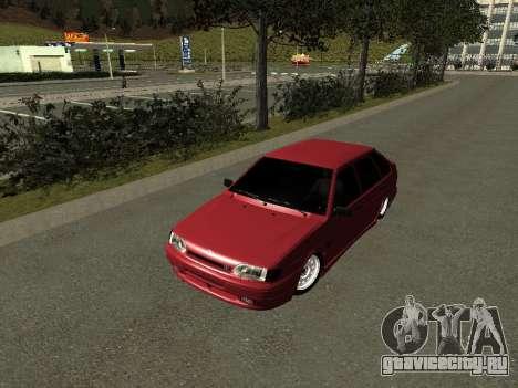 Ваз 2114 БПАN для GTA San Andreas вид слева