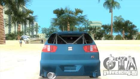 Seat Ibiza GT для GTA Vice City вид слева