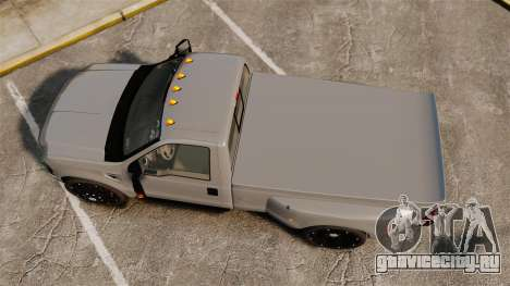 Ford F-350 Pitbull v2.0 для GTA 4 вид справа