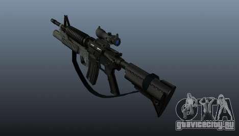 Автоматический карабин M4A1 v2 для GTA 4 второй скриншот