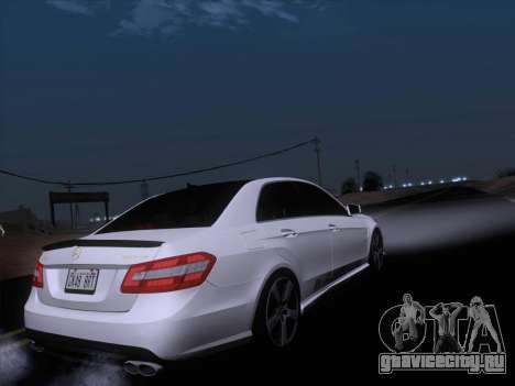 Mercedes-Benz E63 AMG 2011 Special Edition для GTA San Andreas салон