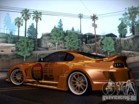Toyota Supra Top Secret V12 для GTA San Andreas вид снизу