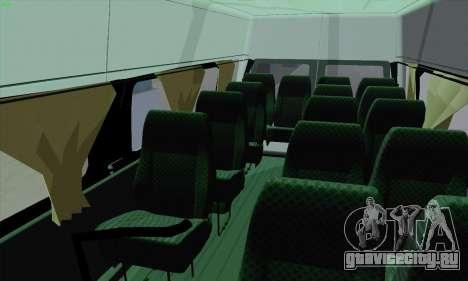 Ford Transit Jumgo для GTA San Andreas вид снизу