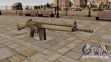 Автоматическая винтовка HK G3 для GTA 4