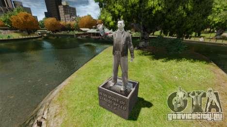 Статуя Клода Спида для GTA 4